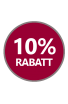 Badge 10% Rabatt